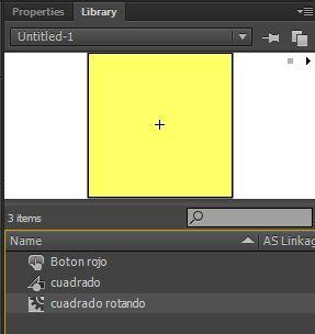 Figura 3: Cada tipo de símbolo se representa en la biblioteca con un icono diferente.